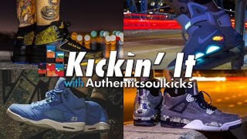 Kickin' It With Authenticsoulkicks Part 3 (Amazing Collection)