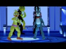 MMD FNAF - Scream with Bonnie's and Chica's