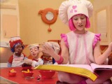 Лентяево  LazyTown - Пирог  Cooking by the book (Russian)