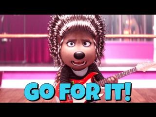 Фраза GO FOR IT! из мультфильма Sing