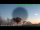 НЛО сбивает метеорит в Челябинске. Нас спасли Видео