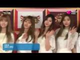 Twice на красной дорожке 2016 KBS Gayo Daejun