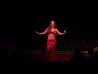 Nathalie Tedrick Belly Dance - Menage Solo 3885