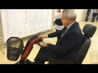 Скутер для пенсионеров!
