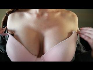 Ashley alban – asmr with ashley  = tits tease  asmr desire