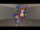 [blender] 3D girl Saki ryona 4 mo BMI!