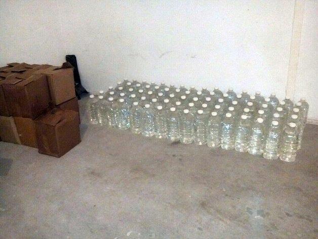 Барановичские милиционеры изъяли более тысячи литров алкоголя