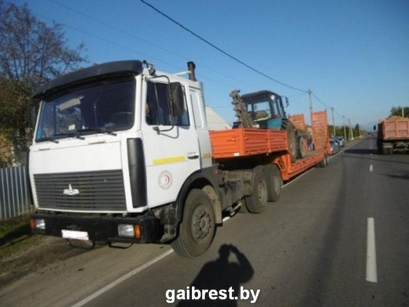 В Пинском районе пешеход угодил под колеса МАЗа