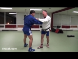 БИЕО Sambo - arm lock leg lock combination