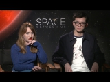 Britt Robertson and Asa Butterfield talk The Space Between Us