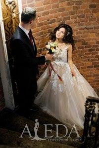 Наша 👰💍#невестаАледа #brideAleda Афанасьева Полина в платье  👗 Беатрис😍 #gabbiano