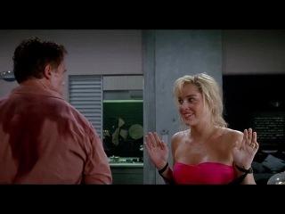 Вспомни всё - Арни даёт с кулака Шерон за обман | Total Recall - Arni Punch Sharon Stone
