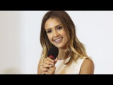 Jessica Alba On Awkward Meeting With Eminem, Her Fake Tooth, Jason Statham Olympic Run & More