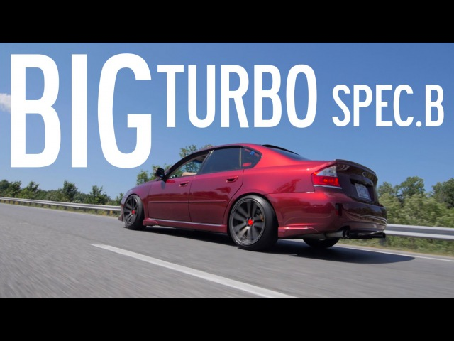400hp Legacy GT Spec B Gears and Gasoline