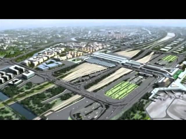 Самый большой транспортный центр в мире Китайцы творят чудеса