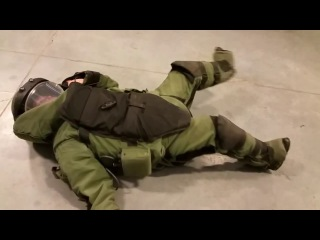 Fiance In The Bomb Suit