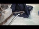 Коричневая змея убила коврового питона