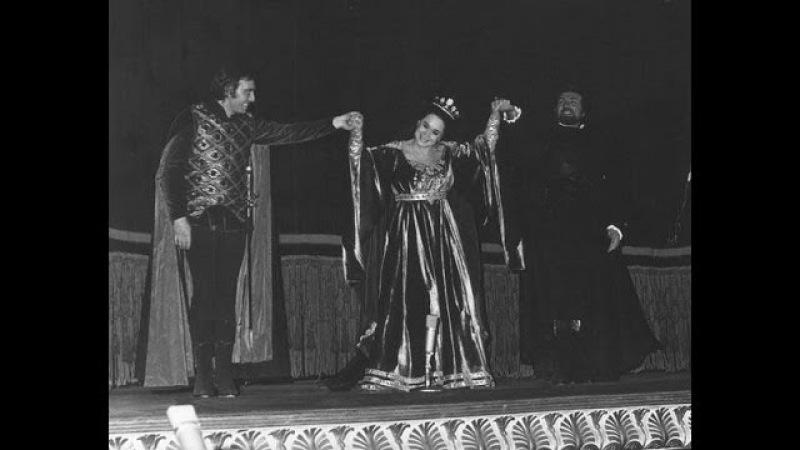 Caterina Cornaro Gaetano Donizetti 1972 GENCER ARAGALL BRUSON CLABASSI RISANI