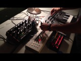 Midnight synth Jam - Moog Mother 32  TR-09  Minilogue