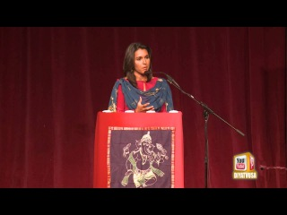 Congresswoman Tulsi Gabbard speaks about being the first Hindu American Member of Congress