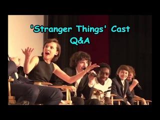 'Stranger Things' Cast Q&A @ Screen Actors Guild Screening (FIXED AUDIO)