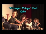 'Stranger Things' Cast Q&A @ Screen Actors Guild Screening (FIXED AUDIO)