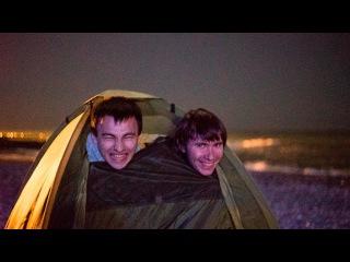 Баня в палатке у моря открытие купального сезона январь 2017