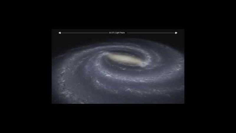 6 minutes pour voir la taille de l'Univers Force Pingouin
