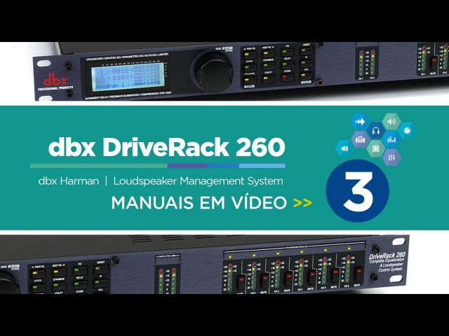 Dbx DriveRack 260 - 3 de 3