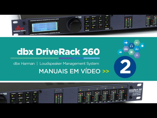 Dbx DriveRack 260 - 2 de 3