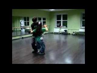 Dana y Adrian. Ревью урока White tango festival 2013