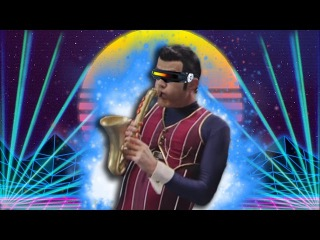 We Are Number One but its Synthwave