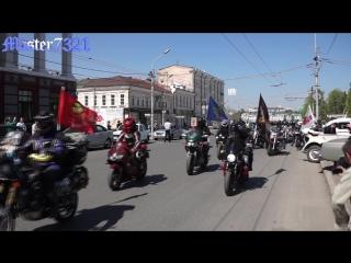 Омск_открытие мотосезона 2017_построение колонны