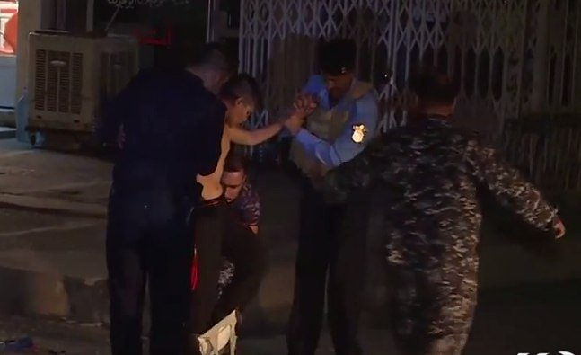 Полиция Ирака сняла пояс смертника с 13-летнего мальчика