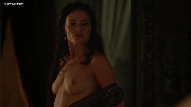 Лара Пулвер Lara Pulver голая в сериале Демоны Да Винчи Da Vinci's Demons 2013 s01e03 1080p