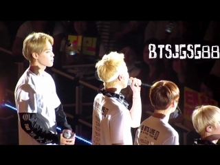 160814 2016 BTS LIVE <화양연화 on stage: epilogue> in Tokyo Day 2 - Ment