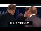 Поляк оскорбил русский народ и получил в морду на ТВ