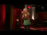 Zara Larsson -  A moment like this (live at the TV4) (2008)