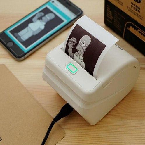 Мини-принтер для телефона