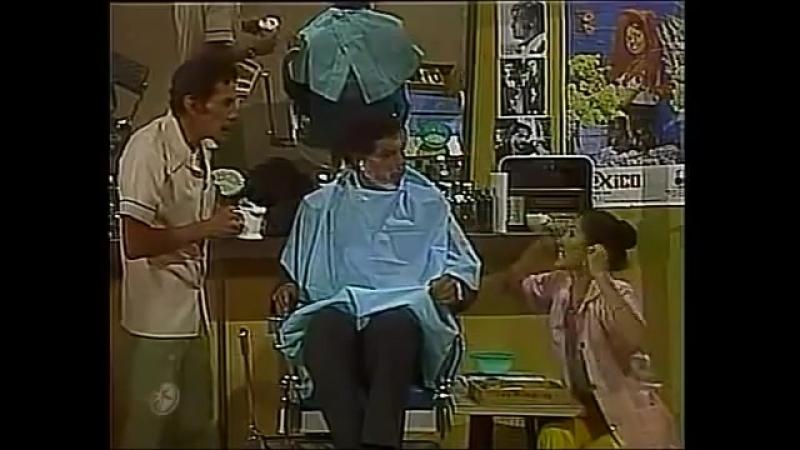 194 El Chapulín Colorado - En las peluquerías es fácil hallar pelados