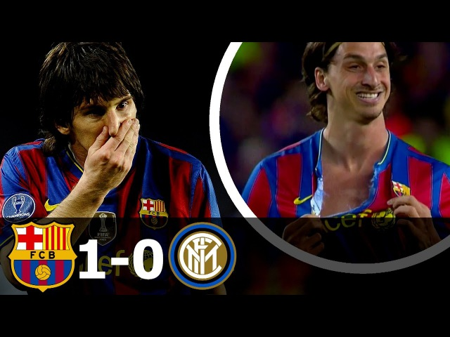 FC Barcelona vs Inter Milan 1-0 All Goals and Highlights (UCL) 2009-10 HD 720p