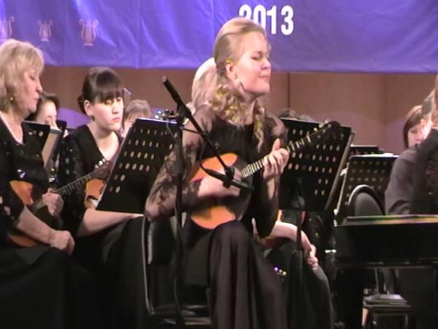 Ekaterina Mochalova Podgaits Mandolin concerto