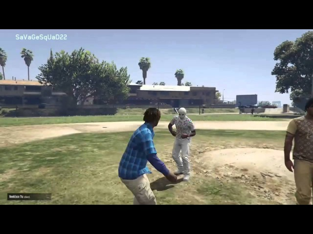 GTA 5 WorldStarHipHop Fight