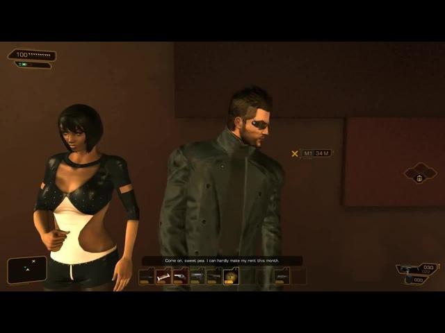 Adam Jensen Does A Safety Dance! (Deus Ex: Human Revolution)