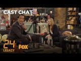 Jimmy Smits &amp Miranda Otto Get To Know Each Other In The FOX Lounge Season 1 24 LEGACY
