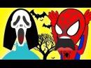 Человек паук против Эльзы! Эльза в МАСКе ХЭЛЛОУИН и многое другое ... !