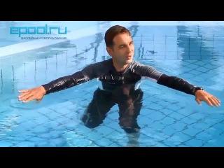 Плавание брассом - техника дыхания - урок 4. Денис Тараканов 🏊