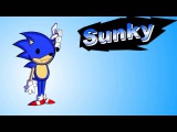 Fight sonic .exe vs sunky