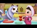 Веселые развивающие мультики КИОКА Стаканчики Мультфильмы для детей