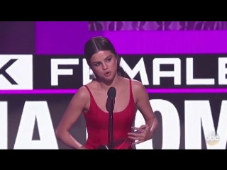 Selena Gomez AMA 2016